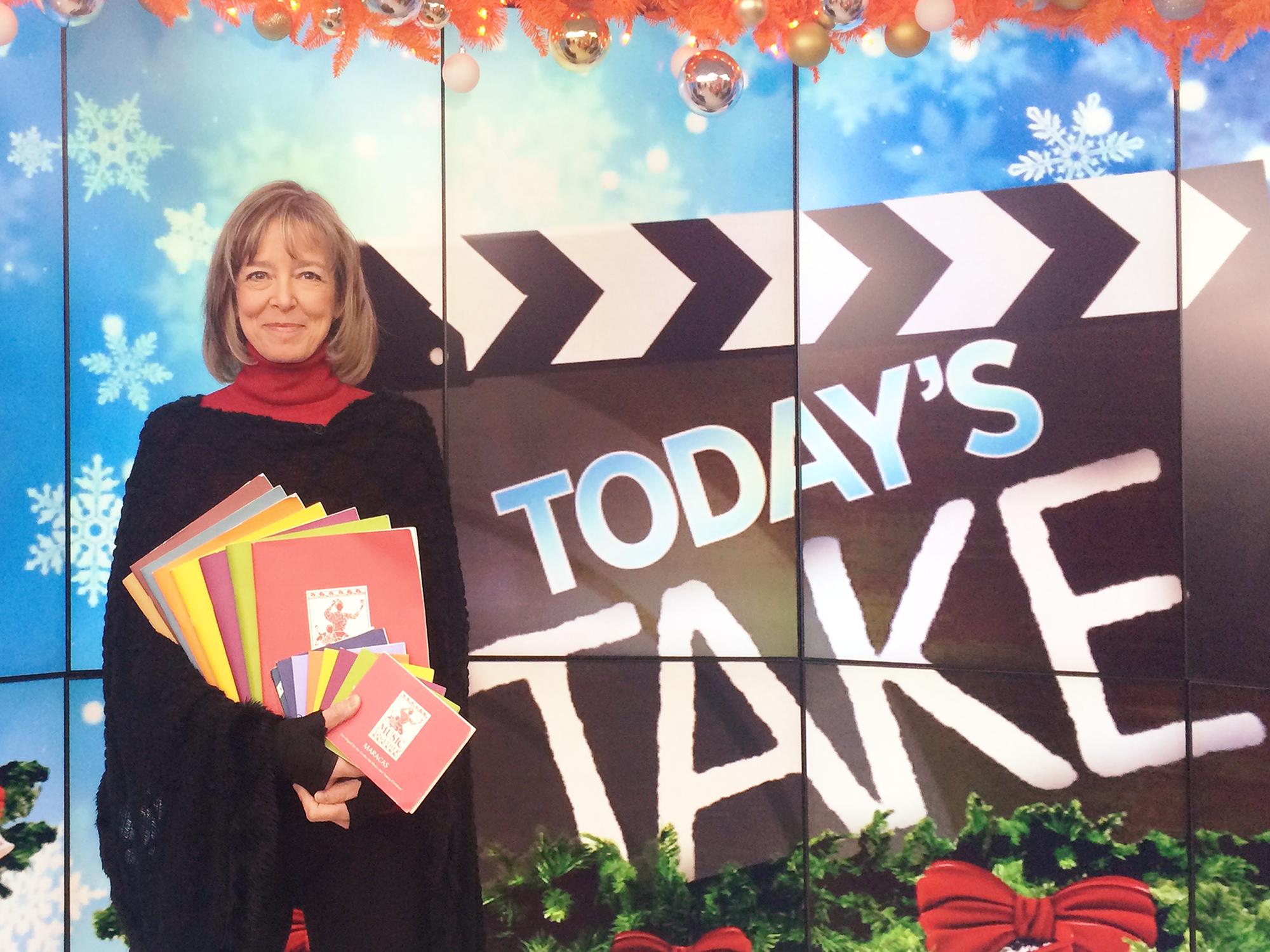 Susan Darrow on NBC's TODAY Show