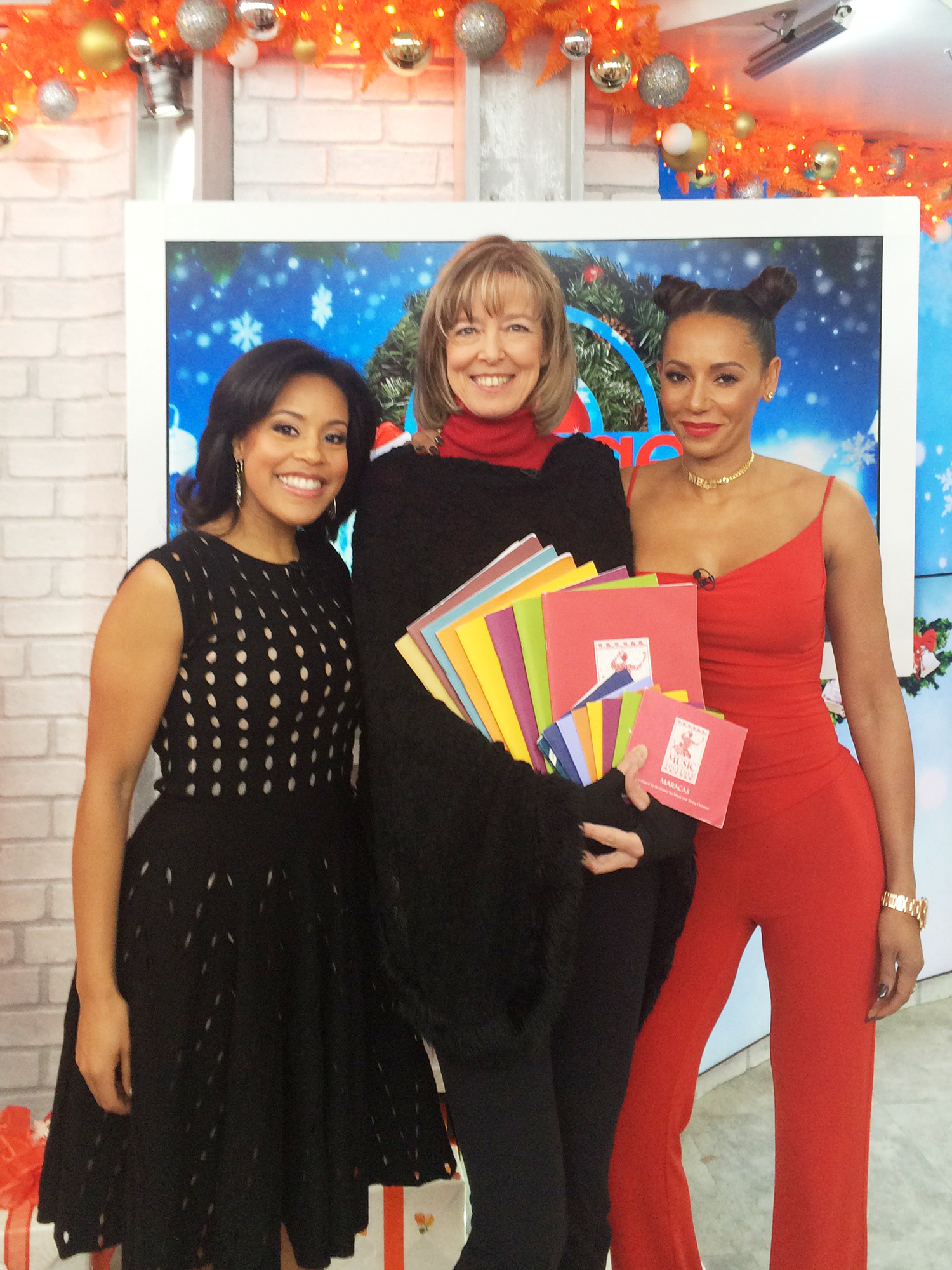 Susan Darrow joins Sheinelle Jones and guest host Mel B.