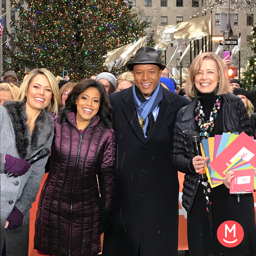 image: Susan Darrow on the TODAY show