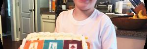 Jack Sullivan's Music Together birthday cake