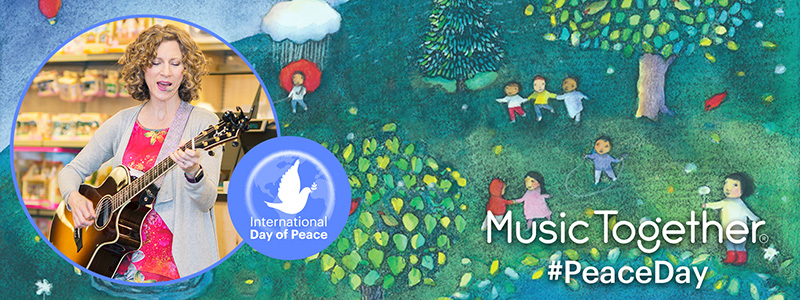 Laurie Berkner Sings May All Children for International Day of Peace Image