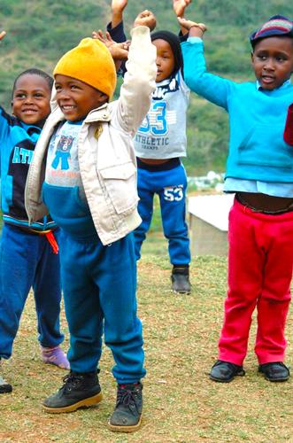 Kids in Durban