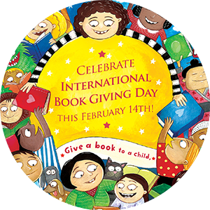 Celebrate International Book Giving Day on February 14th